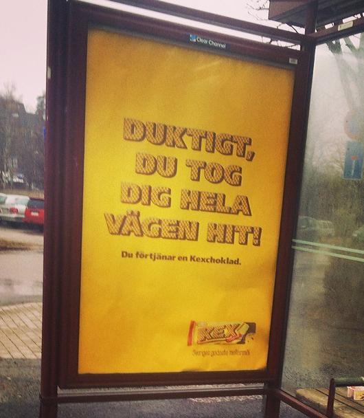 kexchoklad dålig reklam